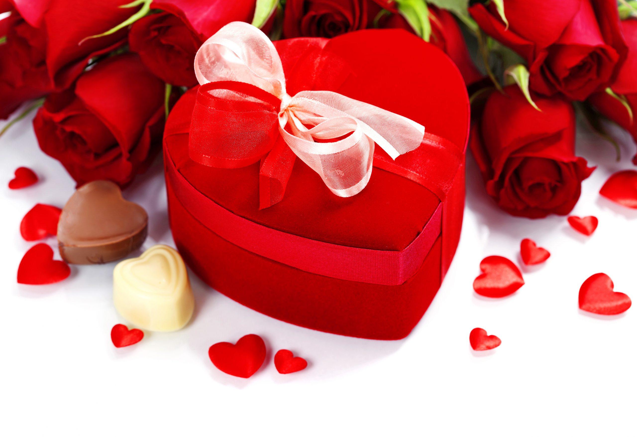 Букет для любимой на день святого Валентина купить
