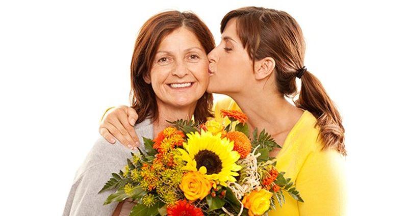 Как выбрать цветы для мамы