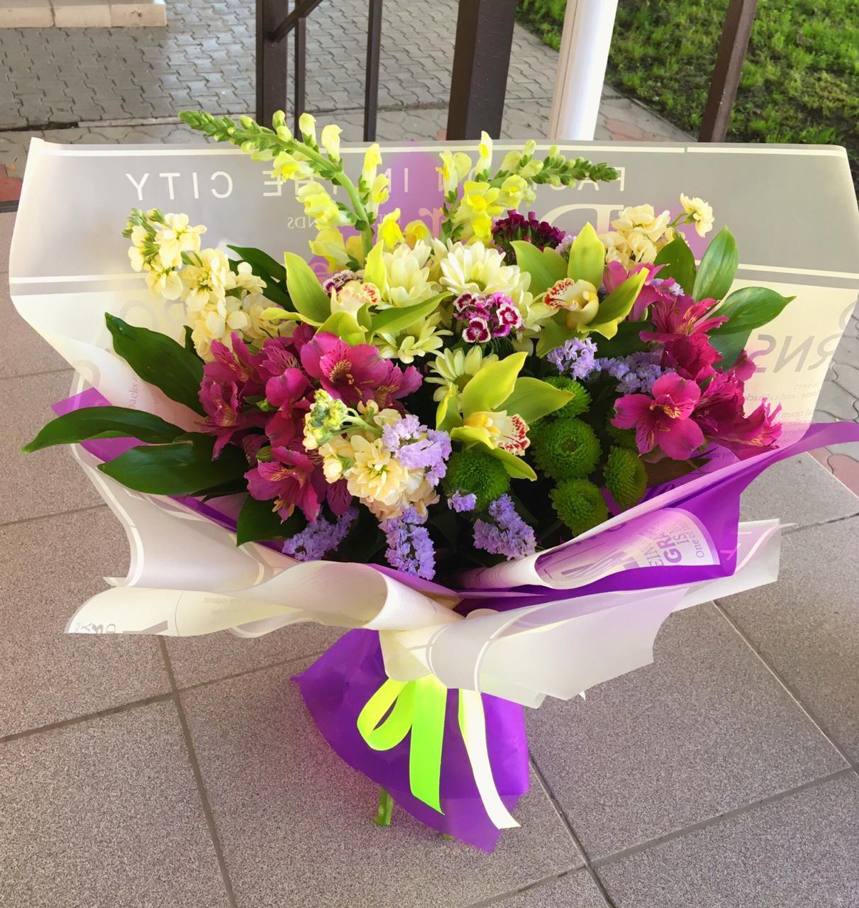 цветы в туле купить
