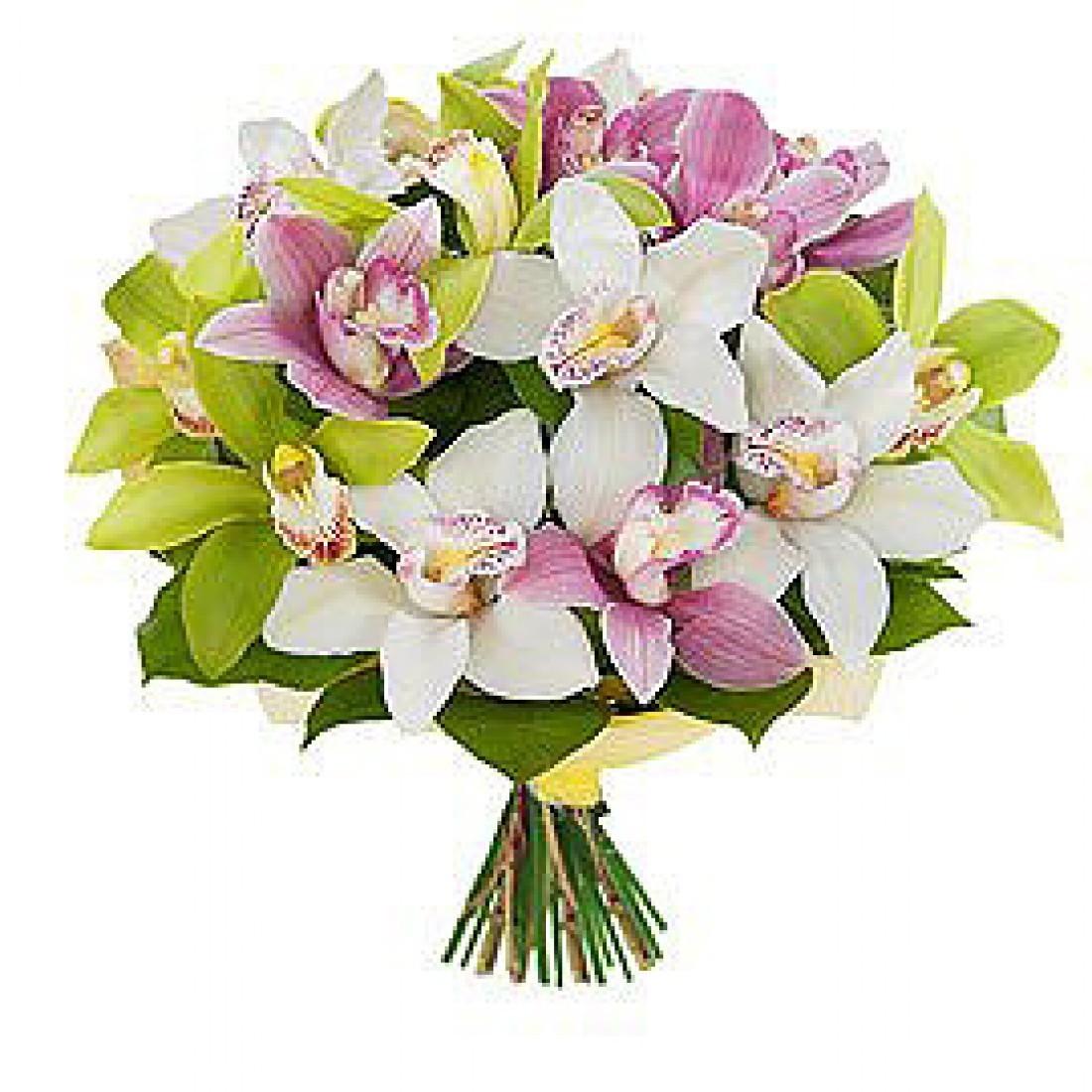 орхидеи букет