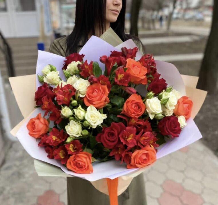 Как заказать цветы из другого города